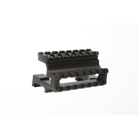 Rail double rehausse picatinny pour Airsoft