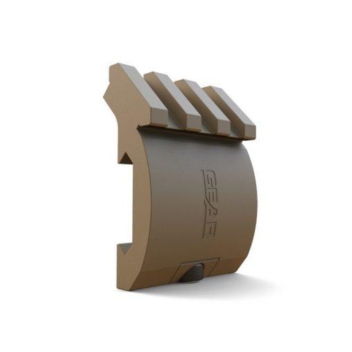 Rail Offset Aluminium X-Series dark earth DUKE