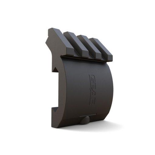 Rail Offset Aluminium X-Series noir DUKE