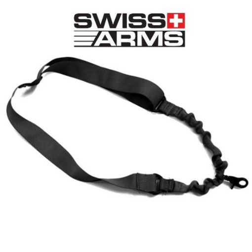 Sangle Airsoft 1 point Swiss Arms noire
