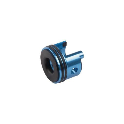 Tête de cylindre alu bleu Gearbox V2