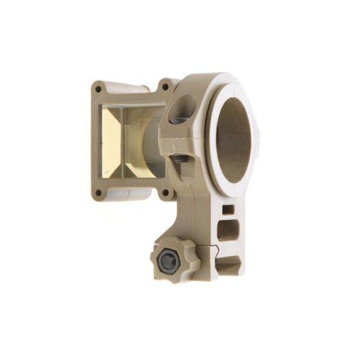 Visée d'angle tactique tan 360° pour réplique Airsoft
