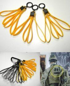 3 paires de menottes serflex militaires Airsoft