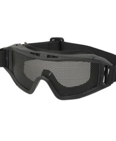 Masque tactique Airsoft grillage noir
