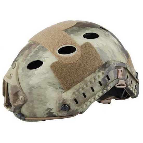 Casque tactique Airsoft FAST PJ Atacs
