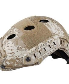 Casque tactique Airsoft FAST PJ Molette Digital Desert