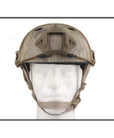 Casque tactique Airsoft FAST PJ Molette Kryptek Highlander