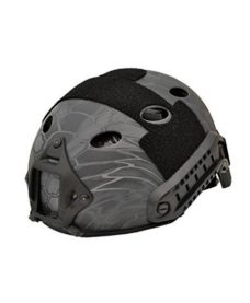 Casque tactique Airsoft FAST PJ Molette Kryptek Typhon