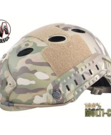 Casque tactique Airsoft FAST PJ Molette MultiCam