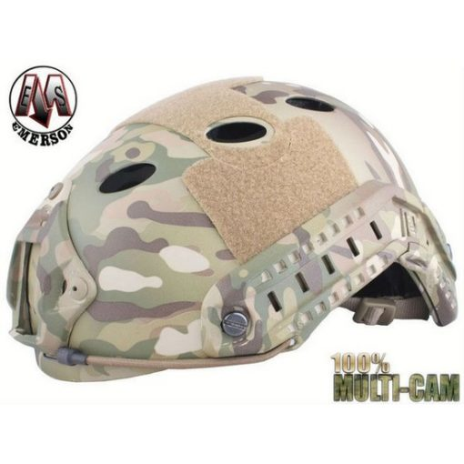 Casque tactique Airsoft FAST PJ Multicam