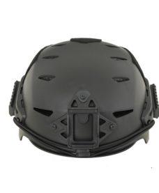 Casque tactique Airsoft noir EXF BUMP