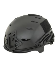Casque tactique Airsoft noir EXF BUMP