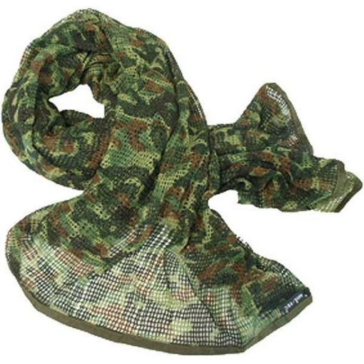 Echarpe filet Airsoft flecktarn