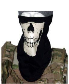 Foulard tête de mort Airsoft anti poussiéres