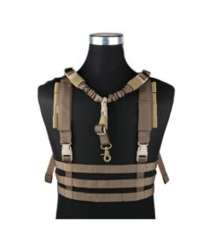 Gilet léger Airsoft molle low profile Coyote