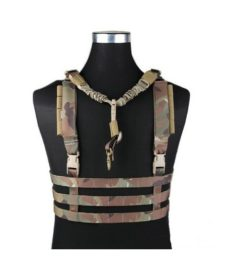 Gilet léger Airsoft molle low profile Multicam