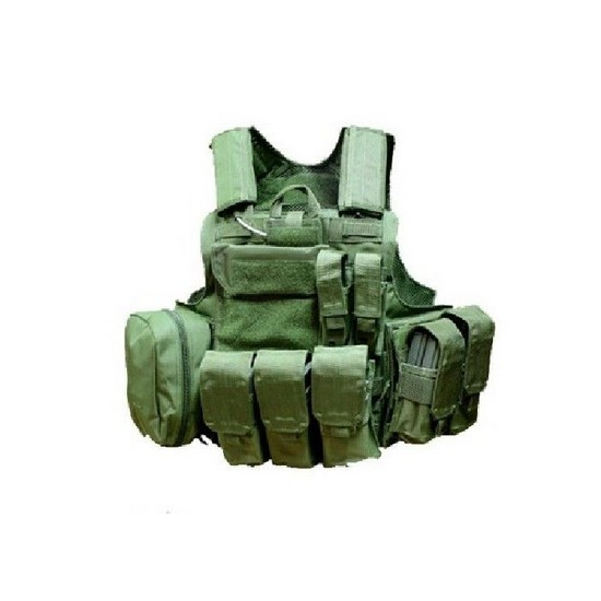 Gilet tactique CRS olive Airsoft Swiss Arrms