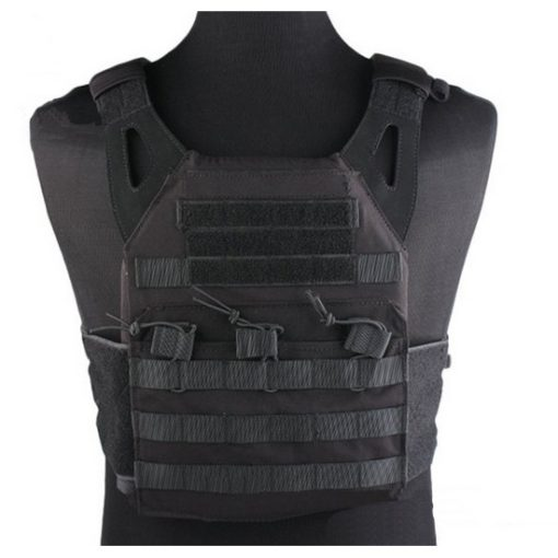 Gilet tactique noir Airsoft JPC