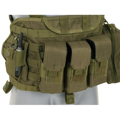 Gilet tactique olive Airsoft DUKE Commando Recon