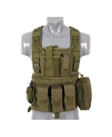 Gilet tactique olive Airsoft DUKE Commando Recon