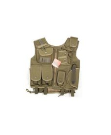 Gilet tactique SWAT olive Airsoft