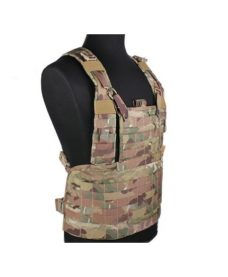 Gilet tactique tan RRV Multicam Airsoft Emerson