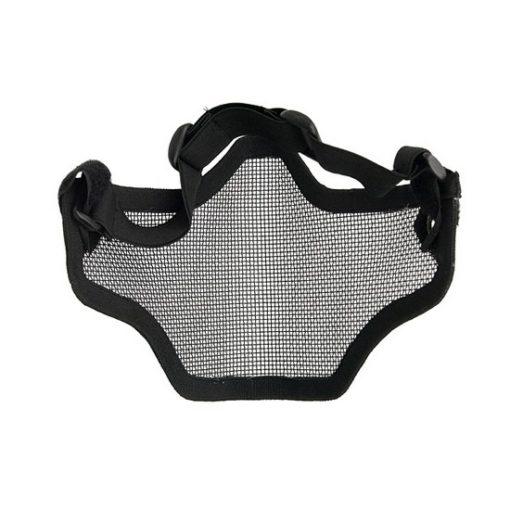 Grille protection bas-visage Airsoft noire Emerson