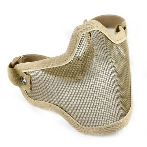 Grille protection bas-visage Airsoft tan Emerson