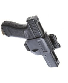Holster Airsoft noir type GunClip pour Glock