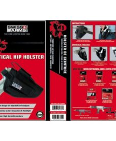 Holster ceinture Airsoft noir Swiss Arms