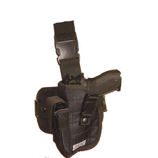 Holster cuisse gauche Airsoft noir Swiss Arms