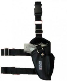Holster cuisse noir Airsoft Swiss Arms