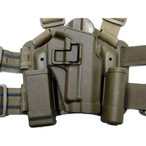 Holster cuisse P226 tan Airsoft CQC rigide