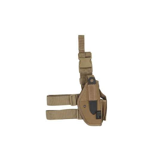 Holster cuisse tan Universel Airsoft Strike