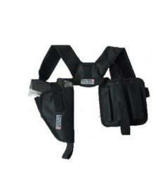 Holster d'épaule Airsoft horizontal noir Swiss Arms