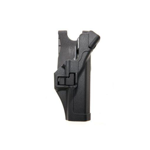 Holster Glock noir droitier Airsoft CQC Rigide