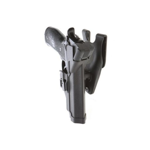 Holster P226 noir droitier Airsoft CQC Rigide