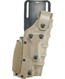 Holster universel Airsoft tan Safariland cuisse et ceinture