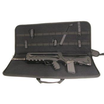 Housse transport Airsoft Famas noir Swiss Arms