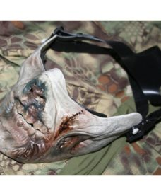 Masque protection zombie Airsoft type vert