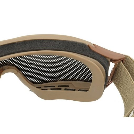 Masque tactique Airsoft grillage tan
