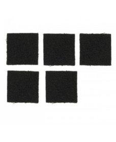 Pack 5 scratchs velcro casque tactique Airsoft noir