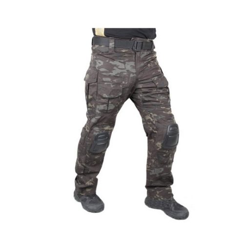 Pantalon tactique Airsoft G3 Black Multicam taille S