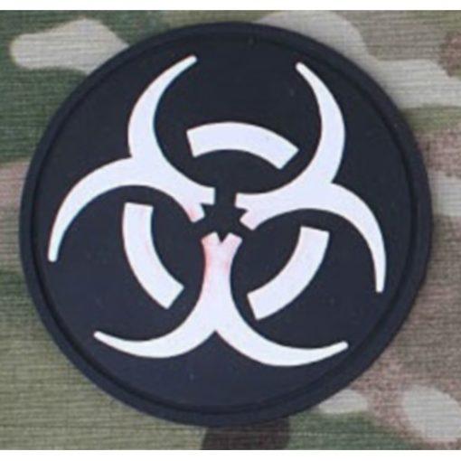 Patch militaire Airsoft Resident Evil noir blanc