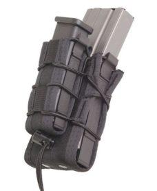 Poche double chargeurs Airsoft fusil et pistolet noir