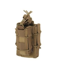 Poche Molle Airsoft tan taco double decker LV2