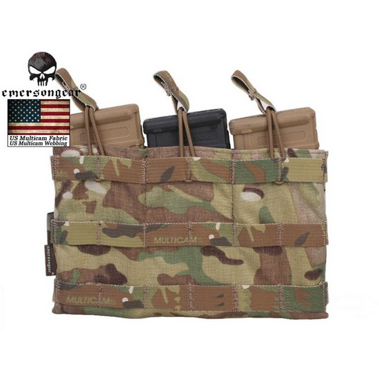 Poche Molle Airsoft triple chargeur Emerson