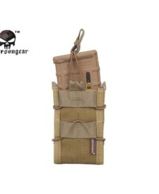 Porte chargeurs Airsoft TACO Mag Emerson 1000D tan
