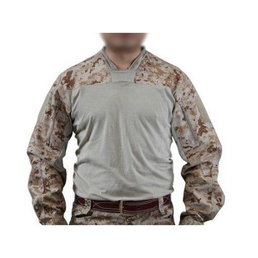 Pull militaire Airsoft LT Halfshell Digital Desert taille M