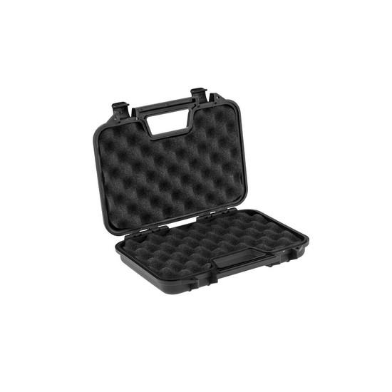 Valise transport noire polymere pour pistolet Airsoft 32 cm